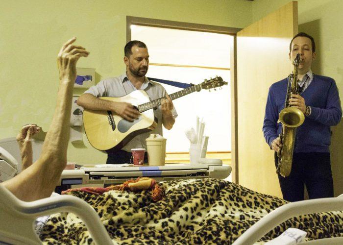 Nick Demopoulos and Evan Schwam Calvary Hospice